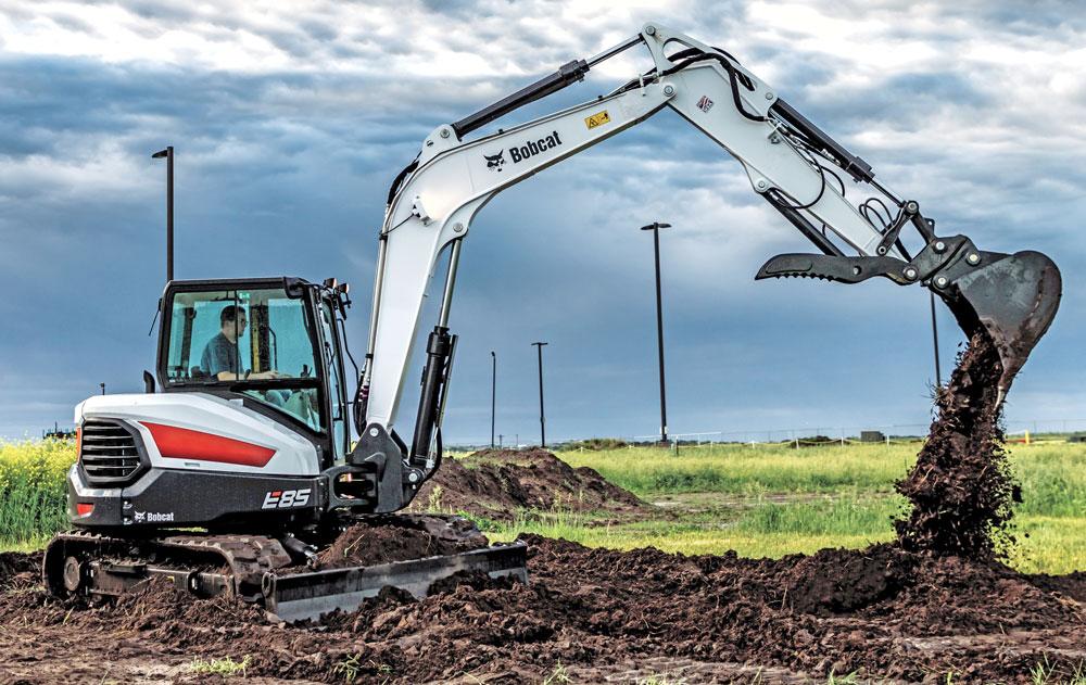 bobcat-e85-excavator